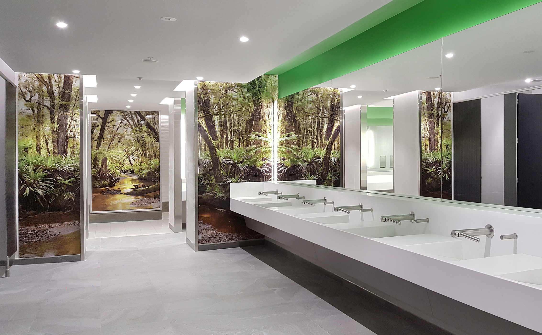 Solitude bathroom at auckland international airport for International decor bathrooms
